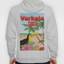 Varkala Indian toucan travel poster. Hoody