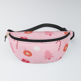 Christmas Fun - Pink Palette  Fanny Pack
