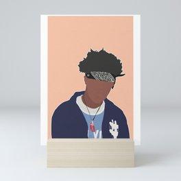 JOEY BADASS Mini Art Print