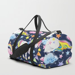 Unicorns, Rainbows & Stars Duffle Bag