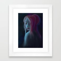 I will destroy you.  Framed Art Print