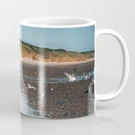 Low tide beach Coffee Mug