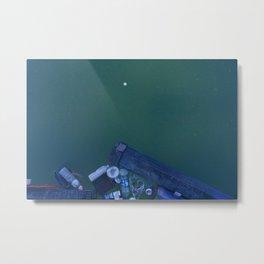 Polluted Water Metal Print