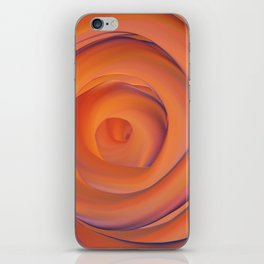 orange and violate gate colorful abstract iPhone Skin