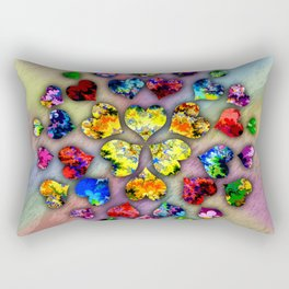 heart beat II Rectangular Pillow