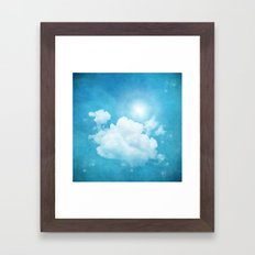 RISING DAY Framed Art Print