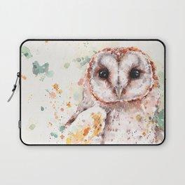 Australian Barn Owl Laptop Sleeve