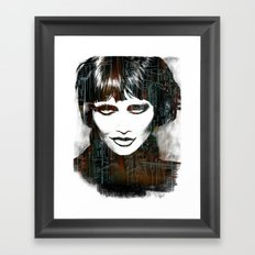 Smokey Framed Art Print