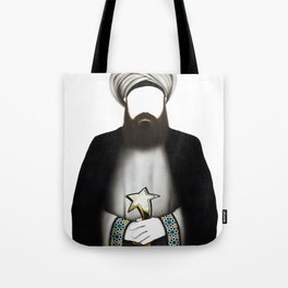 "MUHAMMAD      ""The Planet Earth Awards, Beyond Superstition"" Tote Bag"
