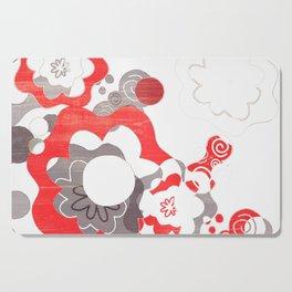 Fiber Flower Power Cutting Board