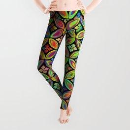 Retro 70's pattern Leggings