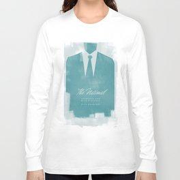 The National - Blue Blazered Long Sleeve T-shirt