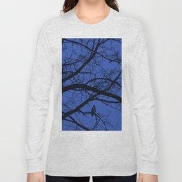 Hawk in Tree Long Sleeve T-shirt