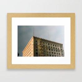 Fire Escape on Film Framed Art Print