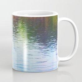 Central Park Boats on Rainbow Waters Coffee Mug