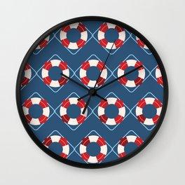 Nautical Tubes Wall Clock