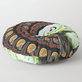 Veðrfölnir Floor Pillow