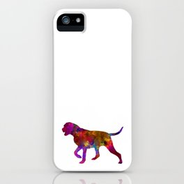 Portuguese Pointer in watercolor iPhone Case