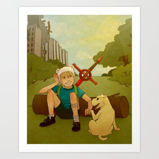 What Time Is It? Art Print