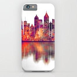 Atlanta Georgia Skyline iPhone Case