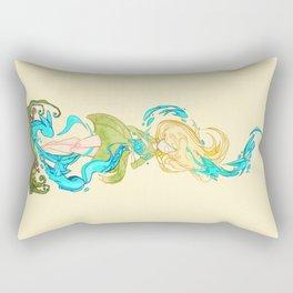 Girl summoner Rectangular Pillow