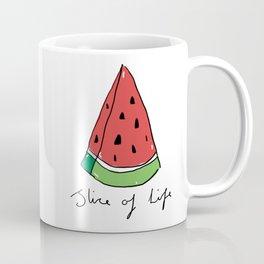 Watermelon - Slice of Life Coffee Mug
