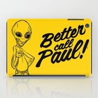 better call saul iPad Cases featuring Better call Paul by Art & Be