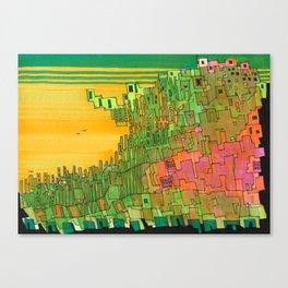 Seaweed City Canvas Print