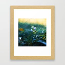 Submerge to a Voyage Framed Art Print