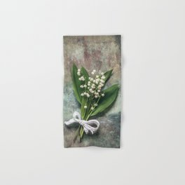 Beautiful Lily Of The Valley Hand & Bath Towel