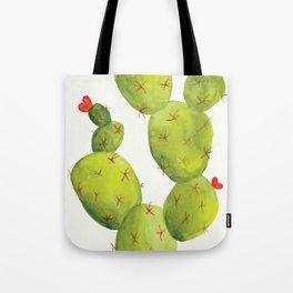 Prickly Pear Cactus Tote Bag