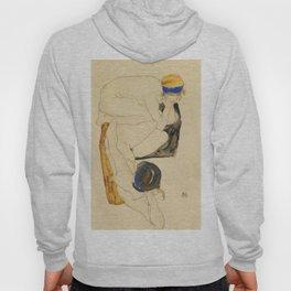"Egon Schiele ""Zwei Liegende Figuren"" Hoody"