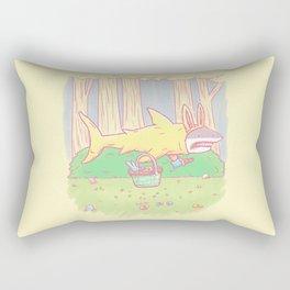 The Easter Bunny Shark Rectangular Pillow