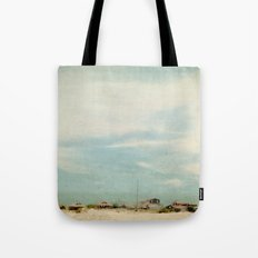 Sleepy Beach Town #2 Tote Bag