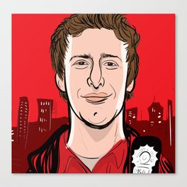 Andy Samberg - Brooklyn Nine-Nine Canvas Print
