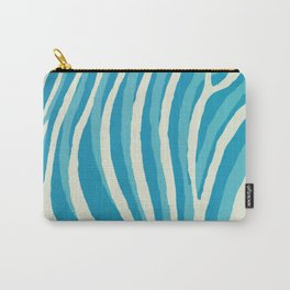 Artistic Zebra Pattern #1 Carry-All Pouch