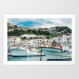 Capri Italy Fine Art Print Art Print