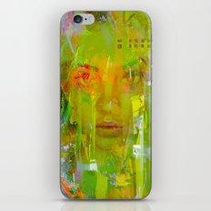 Senza una donna iPhone & iPod Skin