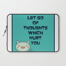 Cute and Inspirational Encouraging Quote Laptop Sleeve