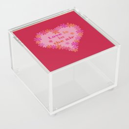 Love is in the air Acrylic Box