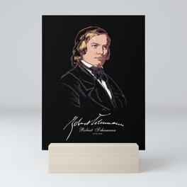 Robert Schumann-German Composer-Classical Music-Piano Mini Art Print