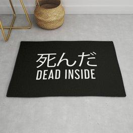 Dead Inside Japanese Aesthetic Egirl Eboy Gift Rug