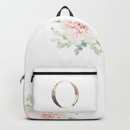 O - Floral Monogram Collection Backpack
