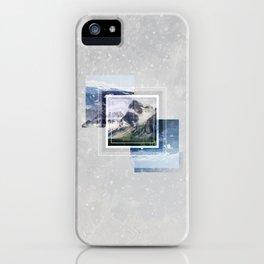 Inspiring mountain iPhone Case