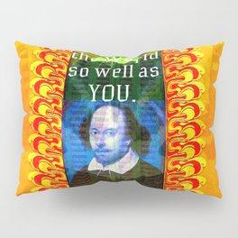 William Shakespeare Romantic LOVE Quote Pillow Sham