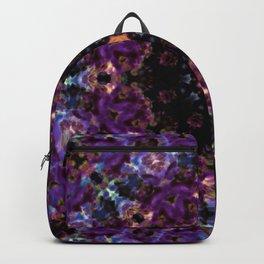 Deep Purple Mandala Backpack