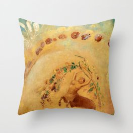 "Odilon Redon ""The Dance of the Centaure"" Throw Pillow"