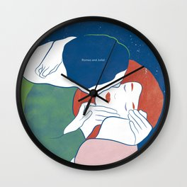 Romeo and Juliet, William Shakespeare Wall Clock