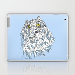 Grouchy Cat Master 3000 Laptop & iPad Skin