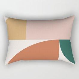 Abstract Geometric 10 Rectangular Pillow